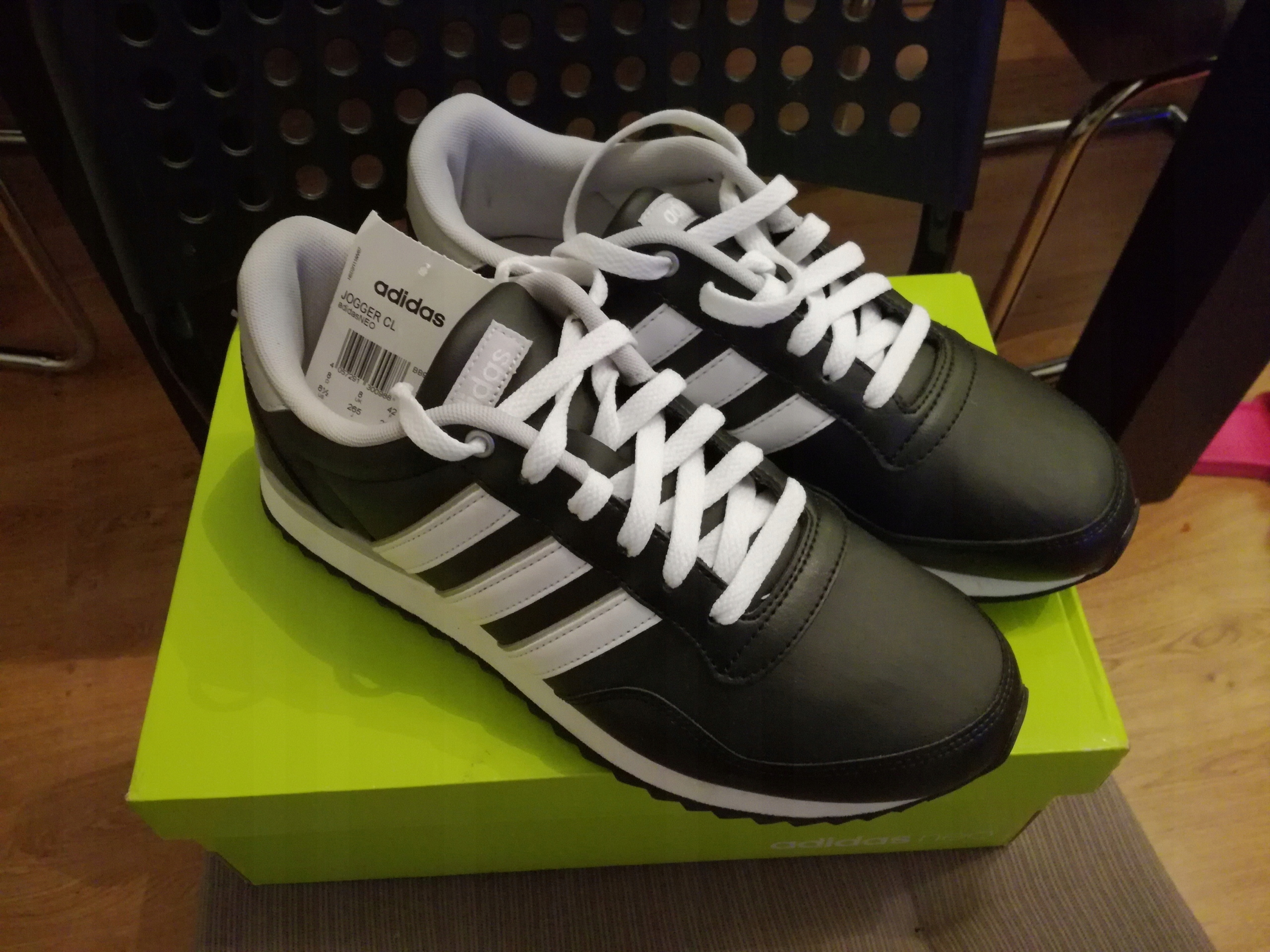 45f3be62 Buty Adidas Jogger CL adidasNEO - 7579632675 - oficjalne archiwum ...
