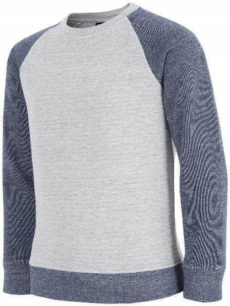 Bluza chłopięca HJZ19 JBLM005 4F (czerwona)