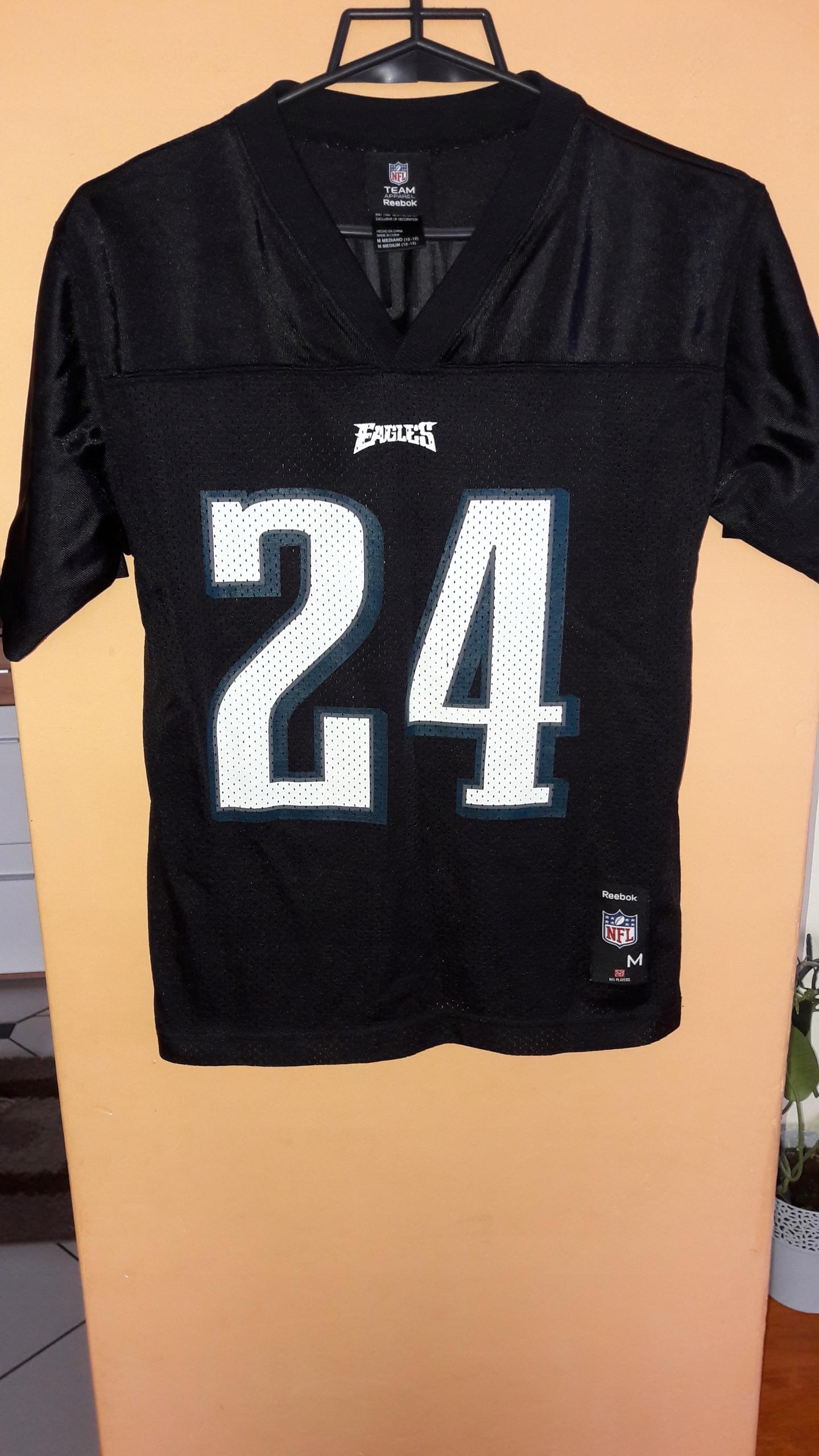 Los Angeles Nowa kolekcja Pierwsze spojrzenie Koszulka NFL Reebok Philadelphia Eagles nr 24 - 7603955068 ...