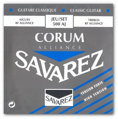 Struny gitarowe SAVAREZ ALLIANCE CORUM 500 AJ kpl.
