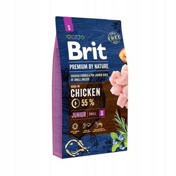 Brit Premium By Nature Junior Small S 1kg