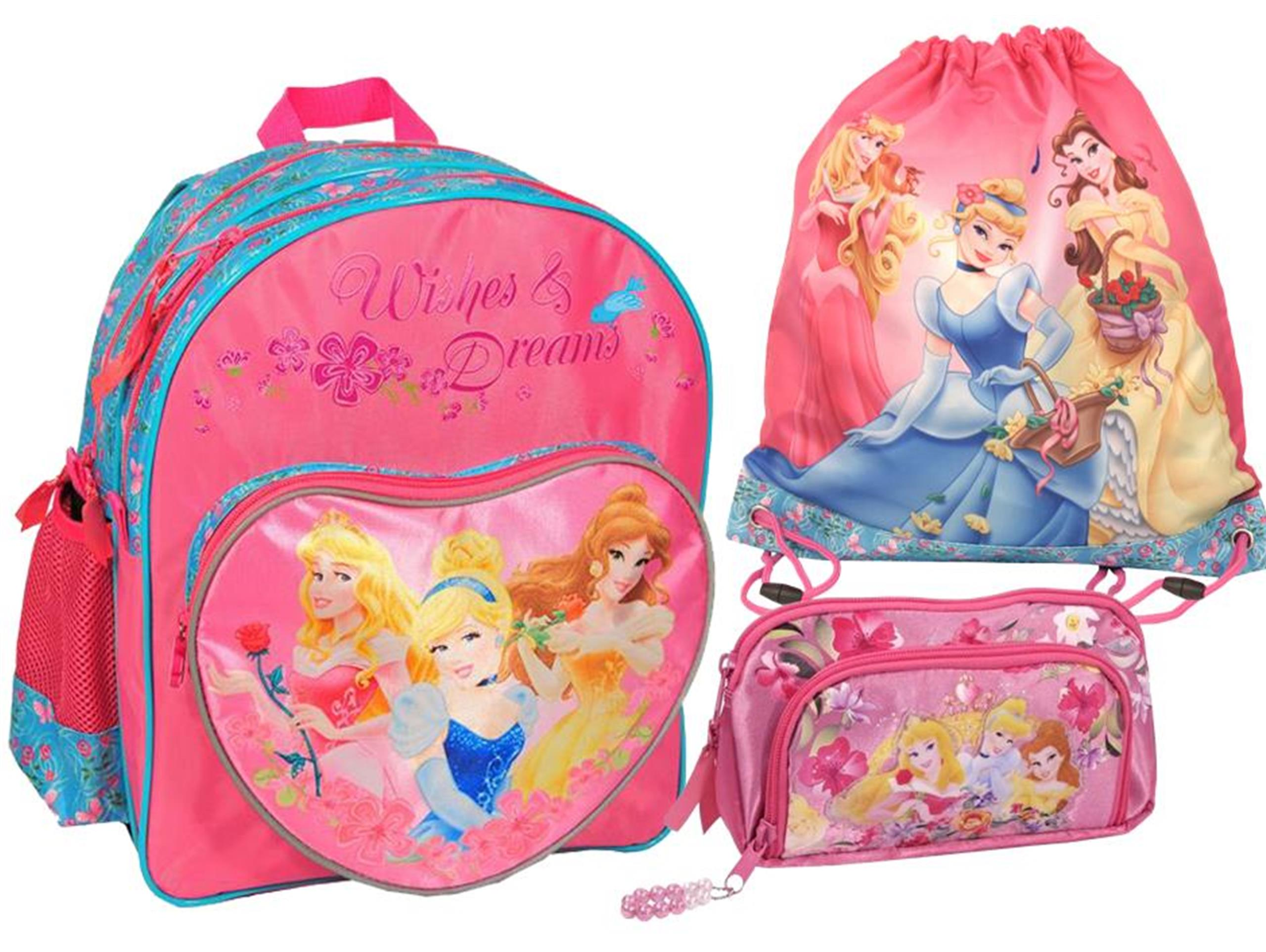 1869ce00cf4da Plecak Szkolny Zestaw 3w1 Księżniczki Disney Paso - 6696927617 ...