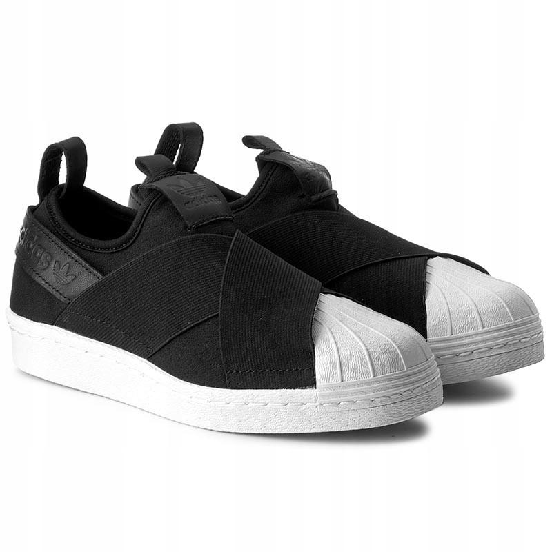 481bb9a0c2ac Buty adidas Superstar SlipOn r.38 BZ0112 - 7449459198 - oficjalne ...
