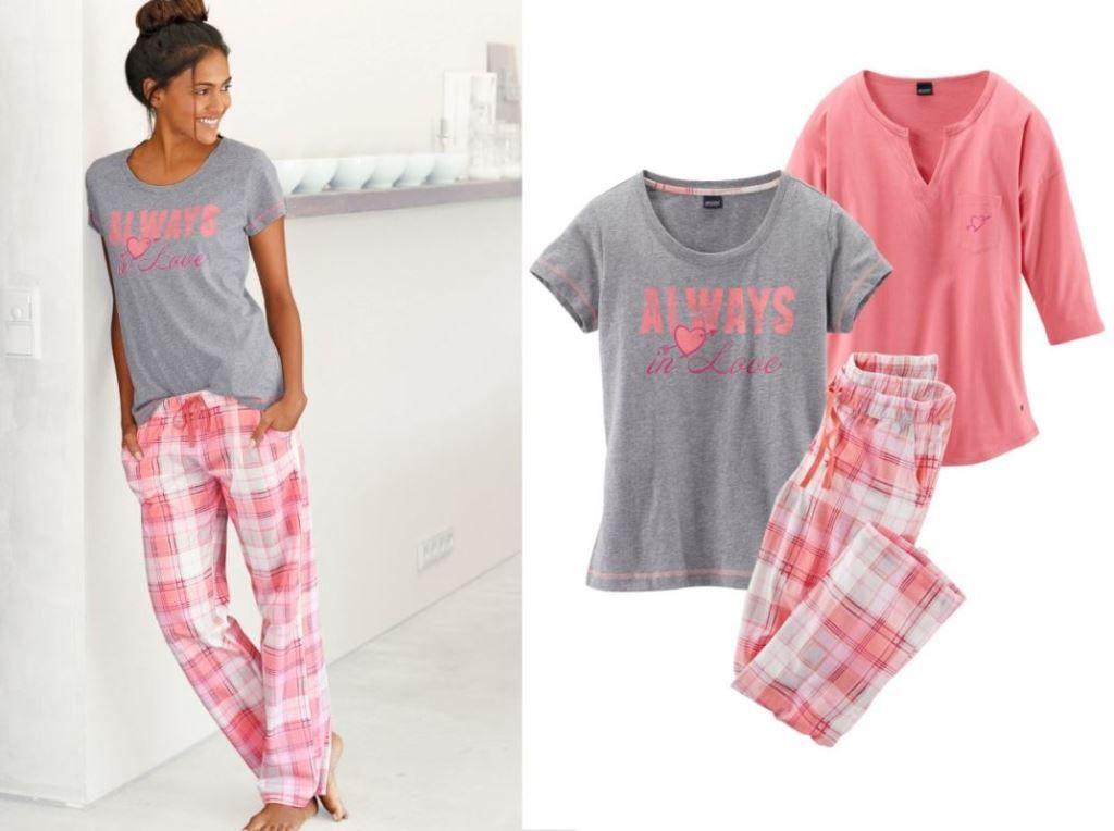 0d6f5c238082f3 ARIZONA świetna 3 częściowa damska piżama 40/42 - 7394119907 ...