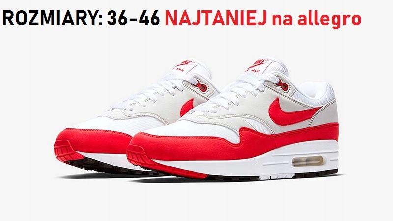 Czerwone Białe R 47 Buty 7562636082 1 Air 36 Damskie Max