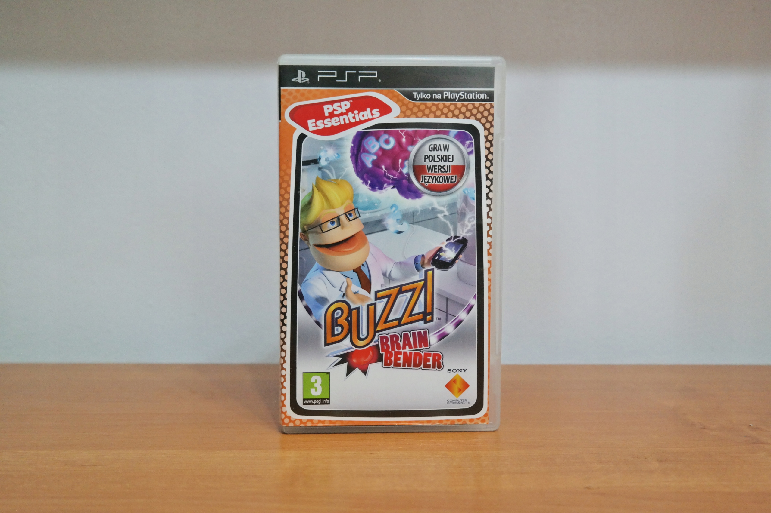 Gra PSP Buzz! Brain Bender