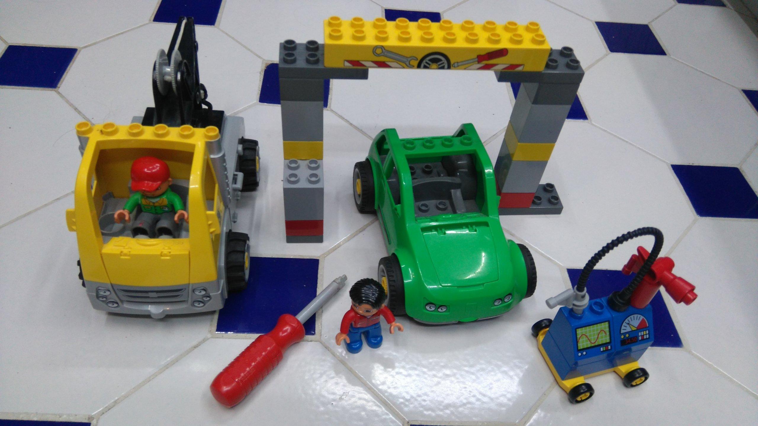 Lego Duplo Warsztat Samochodowy 5641 7091788505 Oficjalne