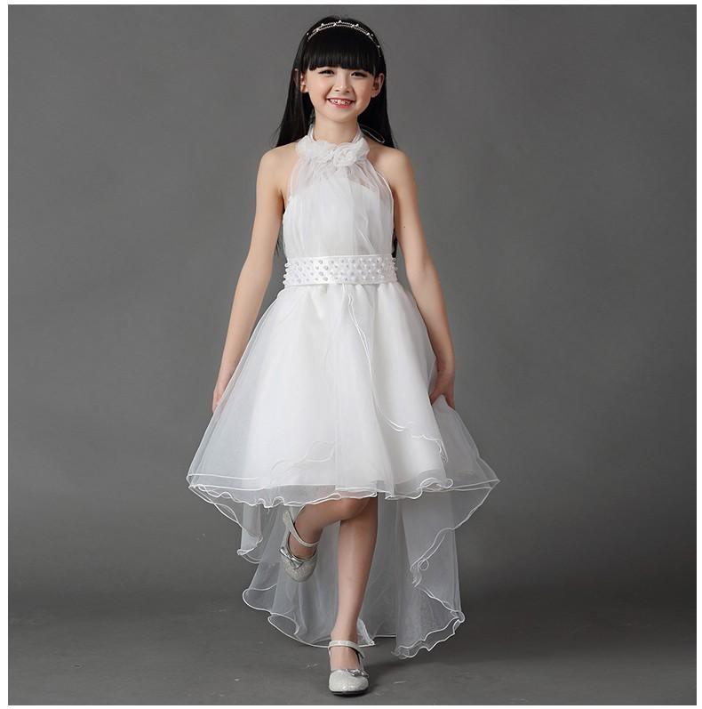 09e8ce73e1 Biała Balowa Długa Sukienka na Wesele Ślub 100-150 - 7387073752 ...