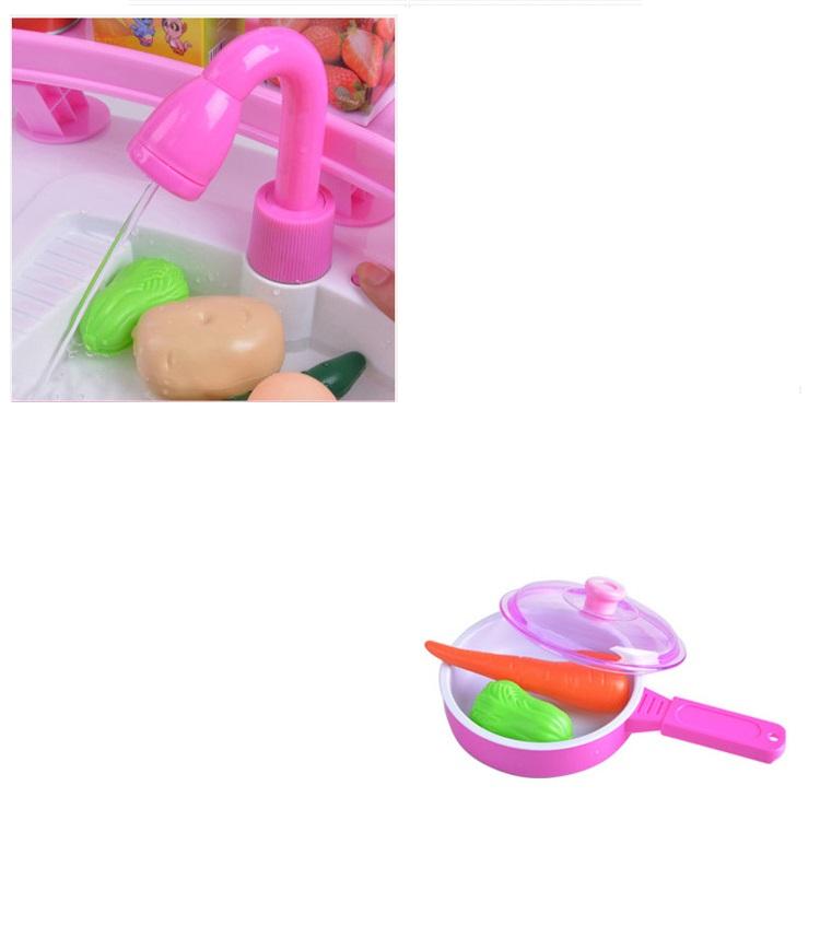 Duza Kuchnia Podwojna Kran Z Woda Dla Dzieci 5145610604