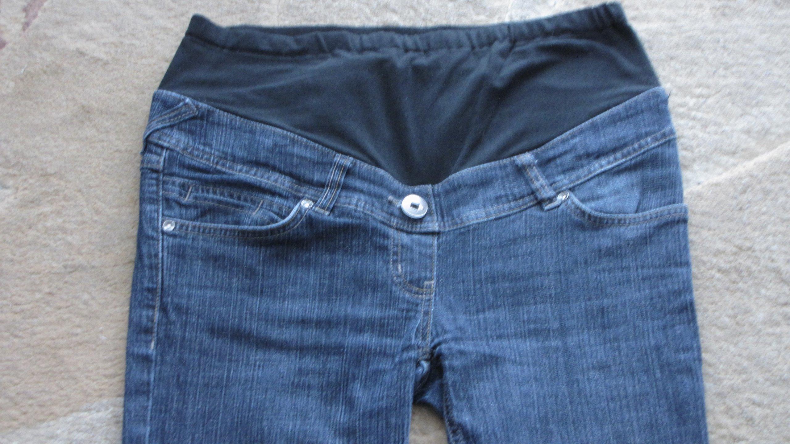 6888c87b CA YESSICA spodnie ciążowe jeansy r. 38