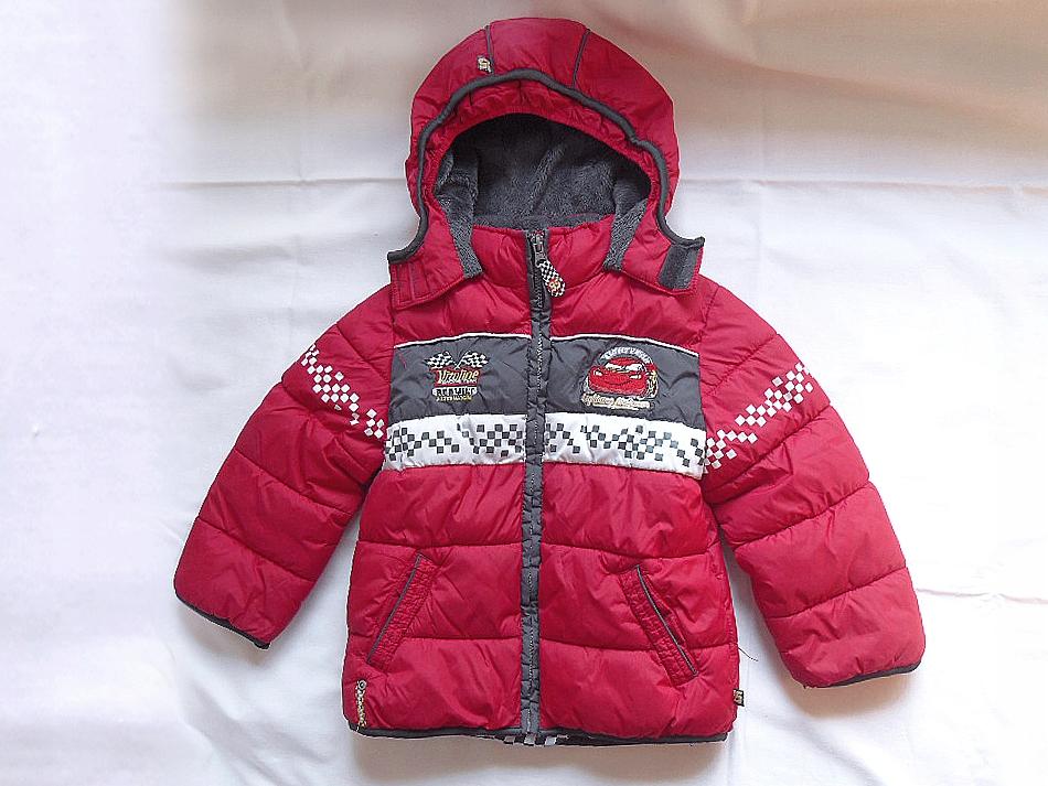 DISNEY CARS kurtka zimowa dla chłopca - 104 cm