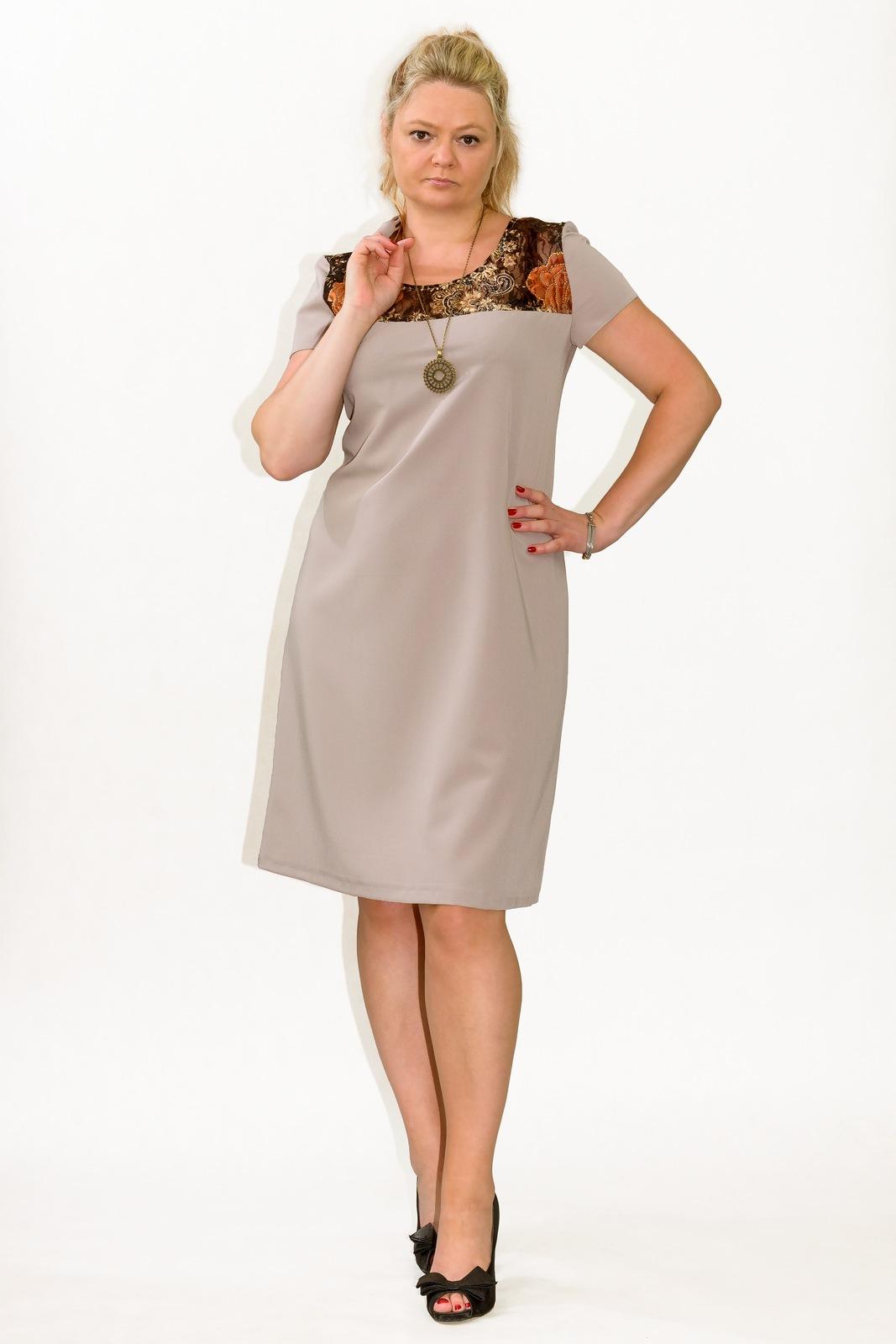 8d463bd575 Sukienka plus size r.52 wesele