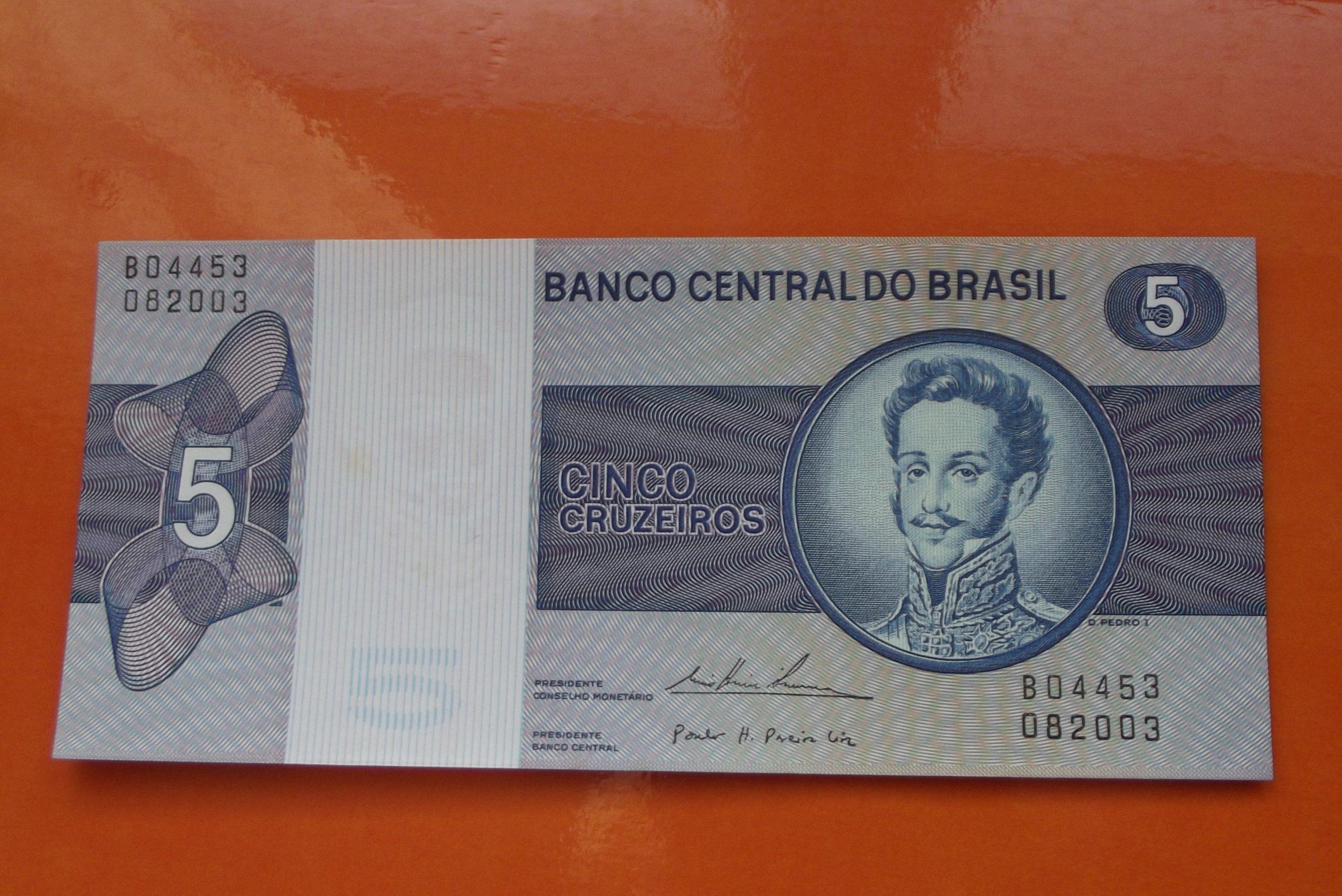 BRAZYLIA  5  CRUZEIROS