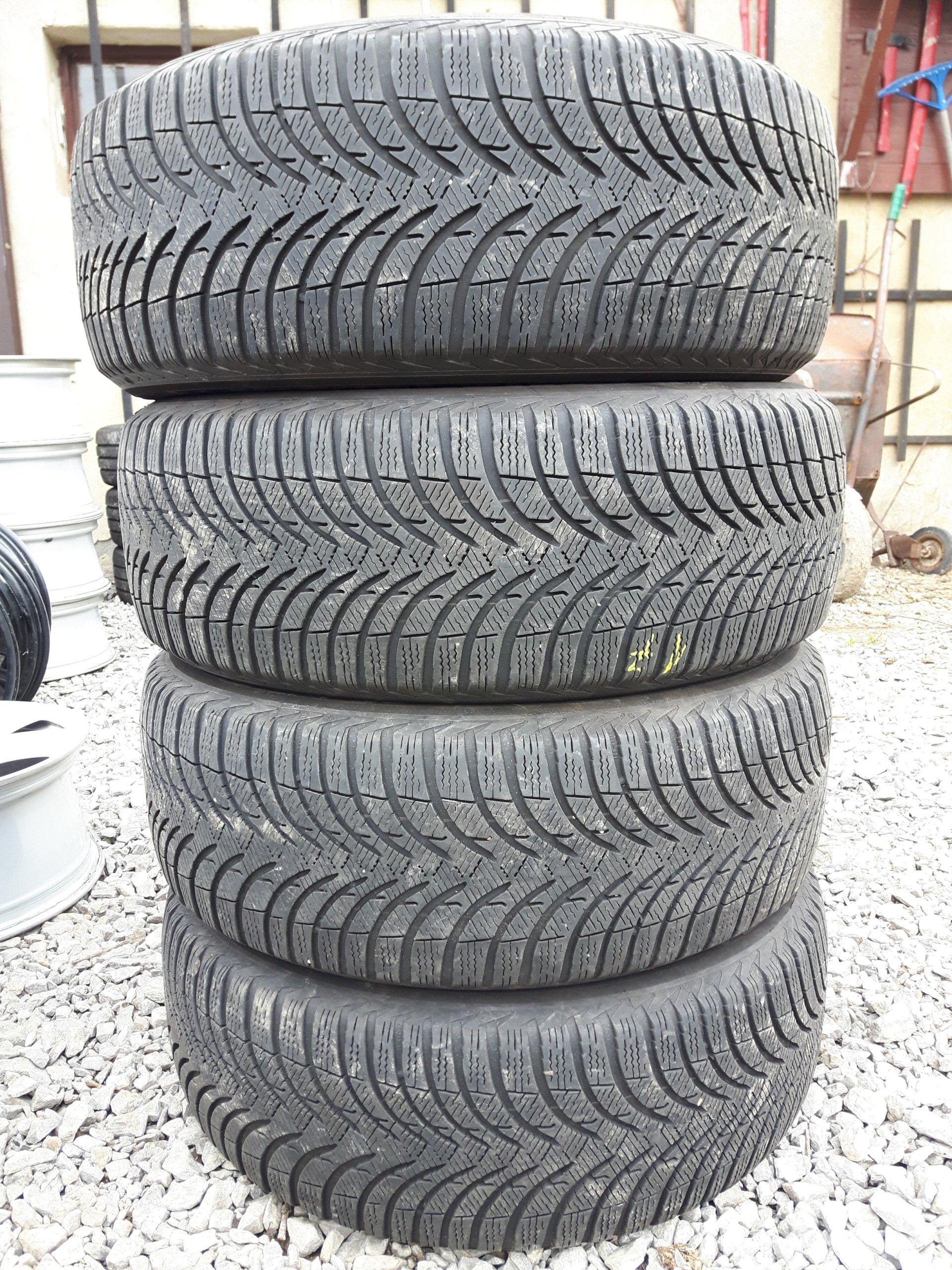 Opony Zimowe Michelin 22555 R17 Komplet 7260944977 Oficjalne