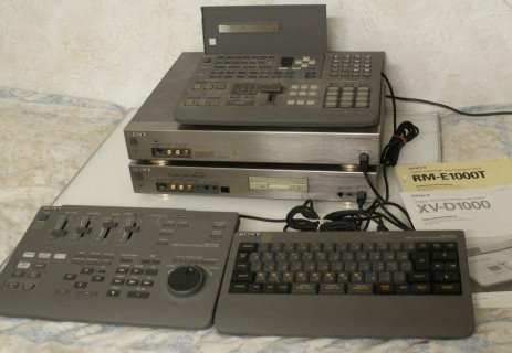 SONY XV-D1000 Oraz RM-E1000T Extra zestaw #######
