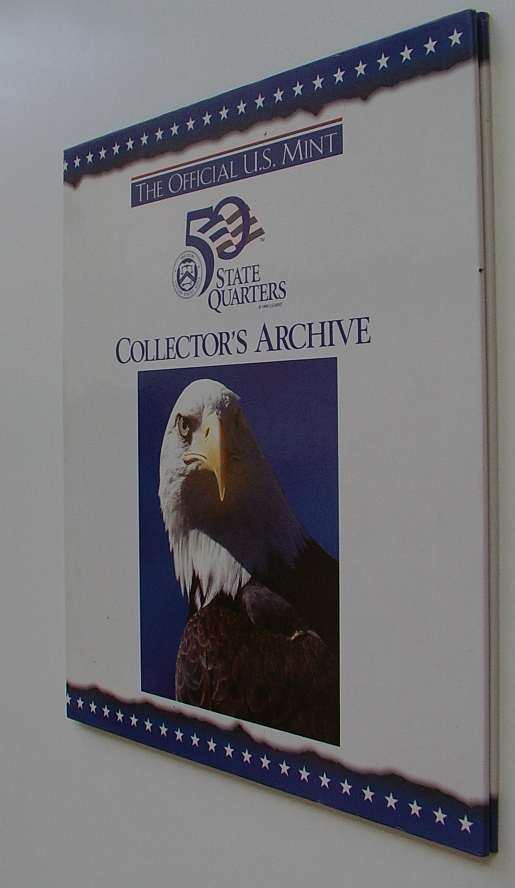 50 STATE QUARTERS COLLECTOR'S ARCHIVE US MINT bdb