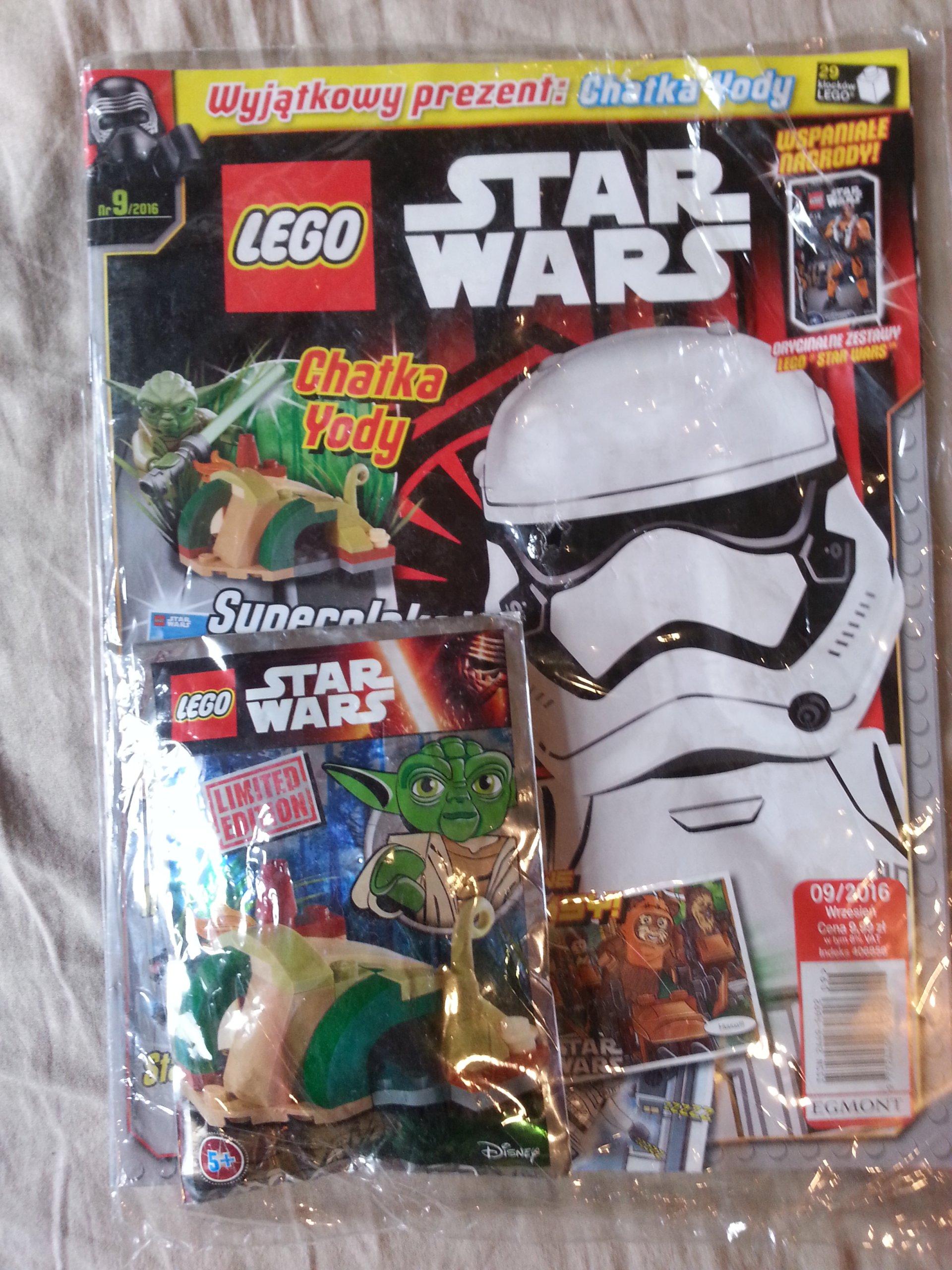 Gazeta Lego Star Wars 9 2016 Z Klockami 7230789881 Oficjalne