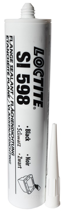 598 клей силиконовый маслостойкий 300ml