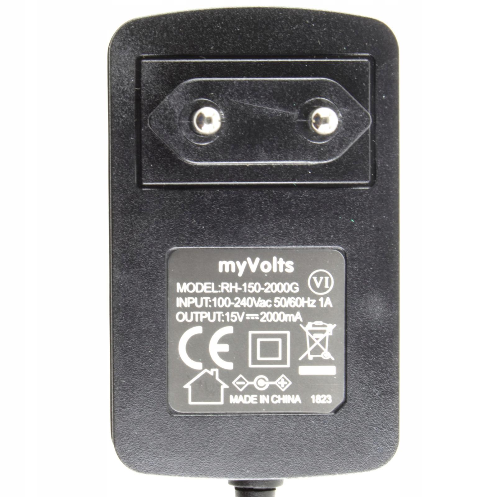 Zasilacz 15V do Yamaha YNT345-1530 Kod producenta EU-44864