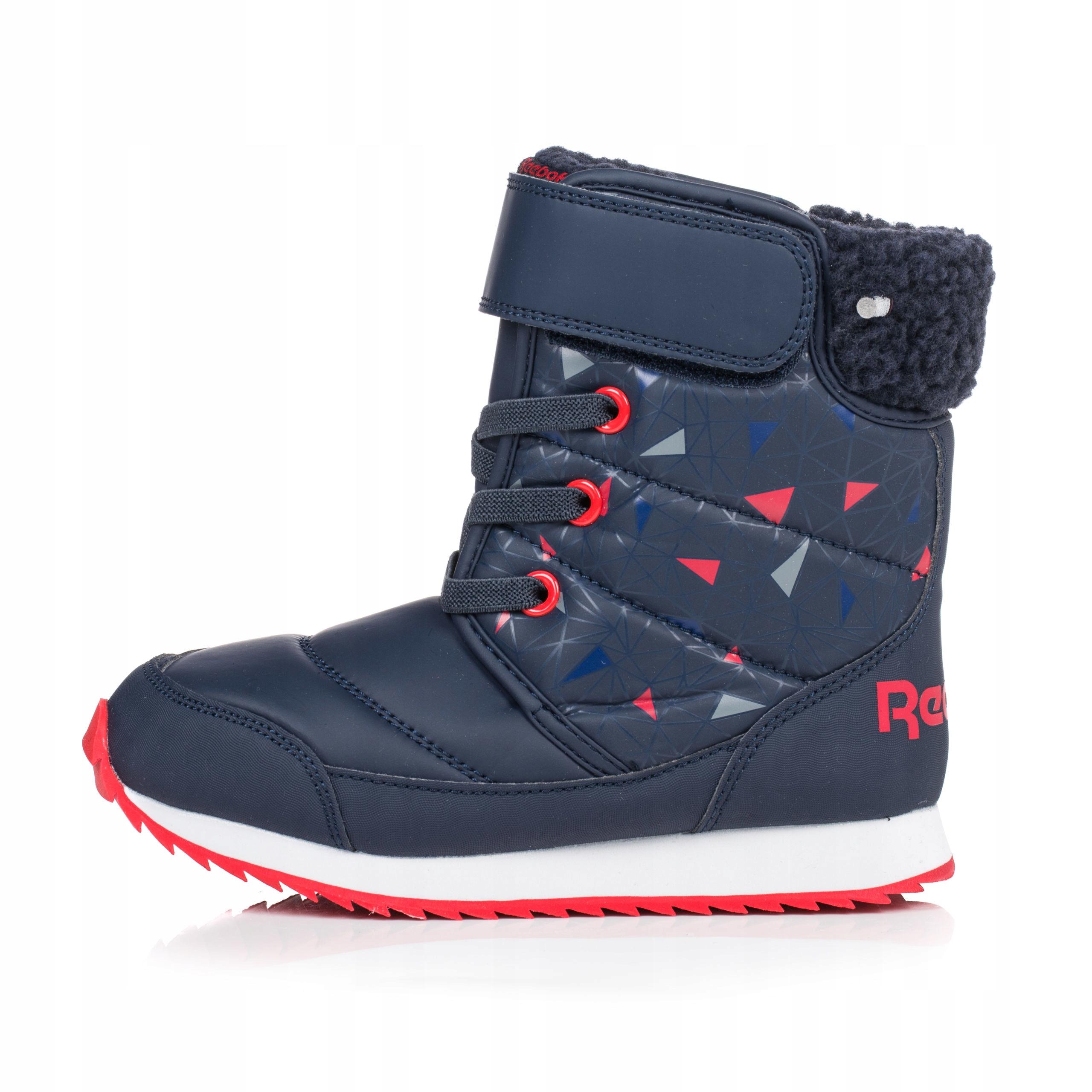 Buty dziecięce Reebok Snow Prime śniegowce BS7778 Ceny i