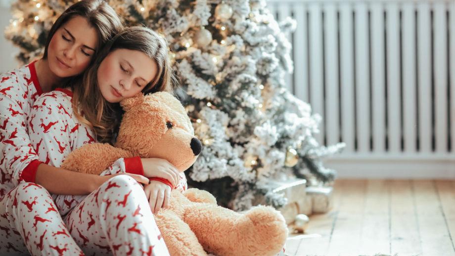 Piżamy ze świątecznymi motywami