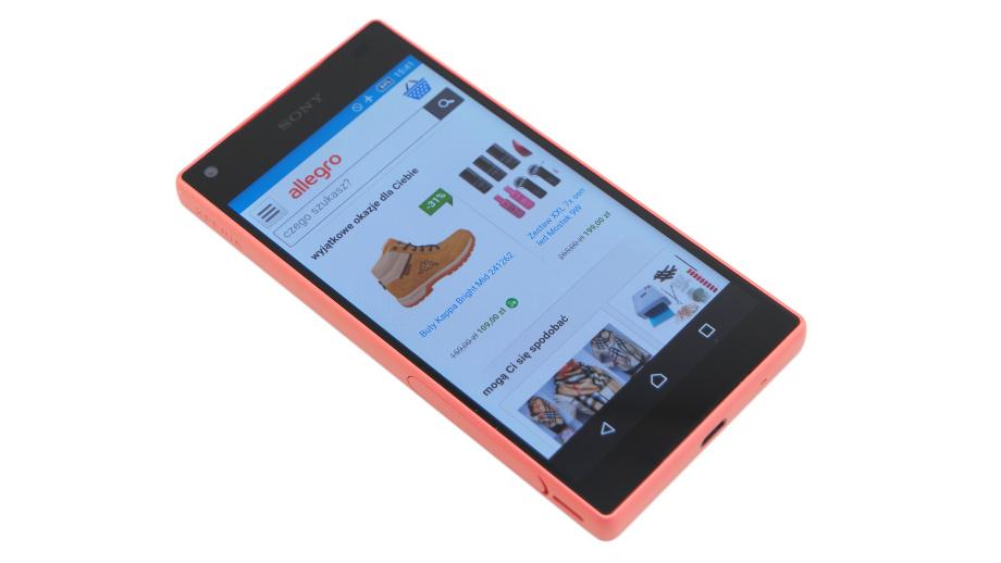 Sony Xperia Z5 Compact Kieszonkowy Flagowiec Od Sony Allegro Pl