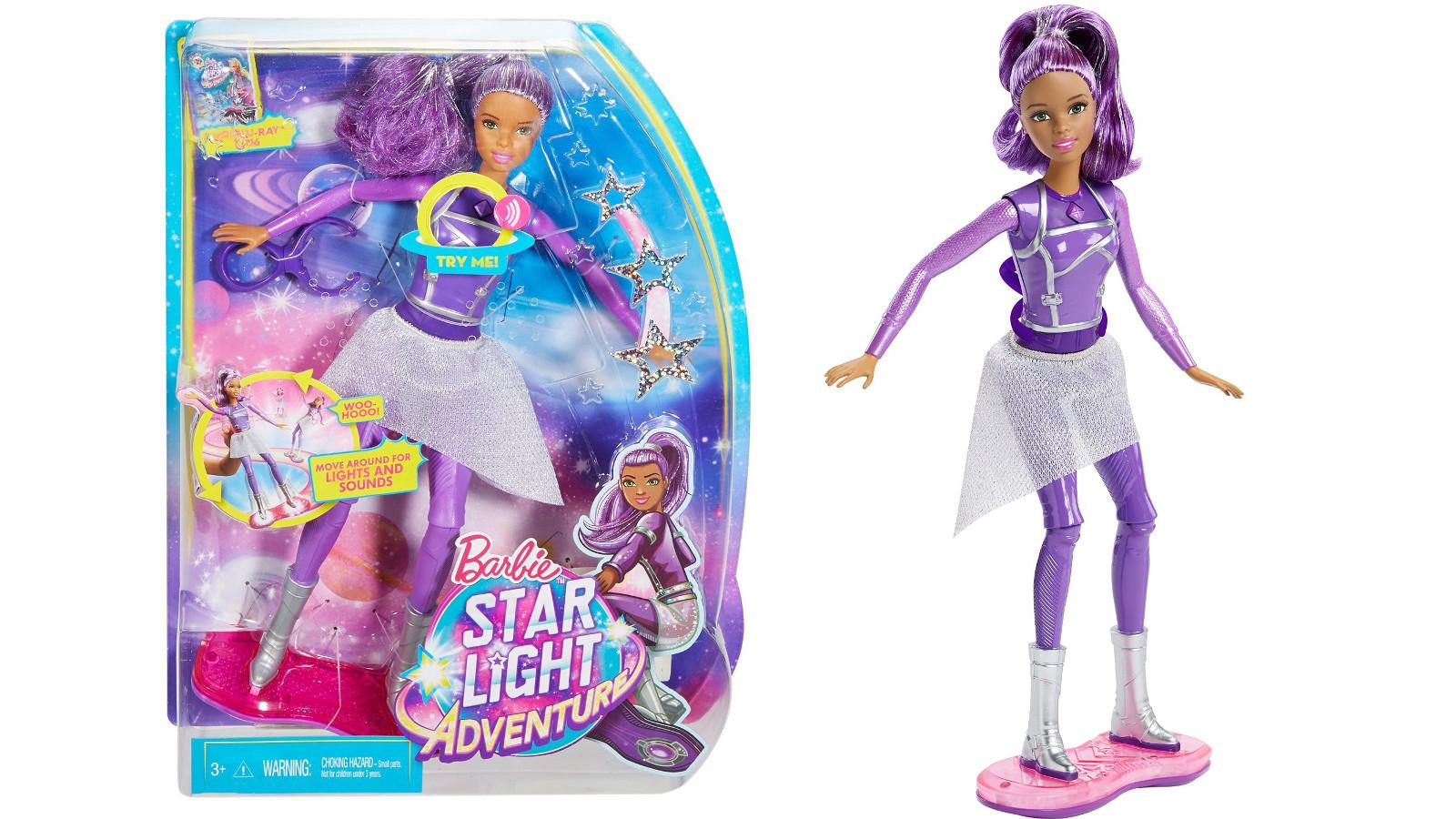 Zabawki z nowego filmu o przygodach Barbie – Gwiezdna Surferka