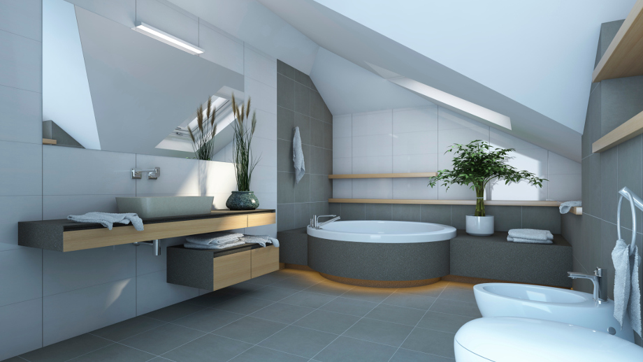 łazienka W Nowoczesnym Stylu Allegropl