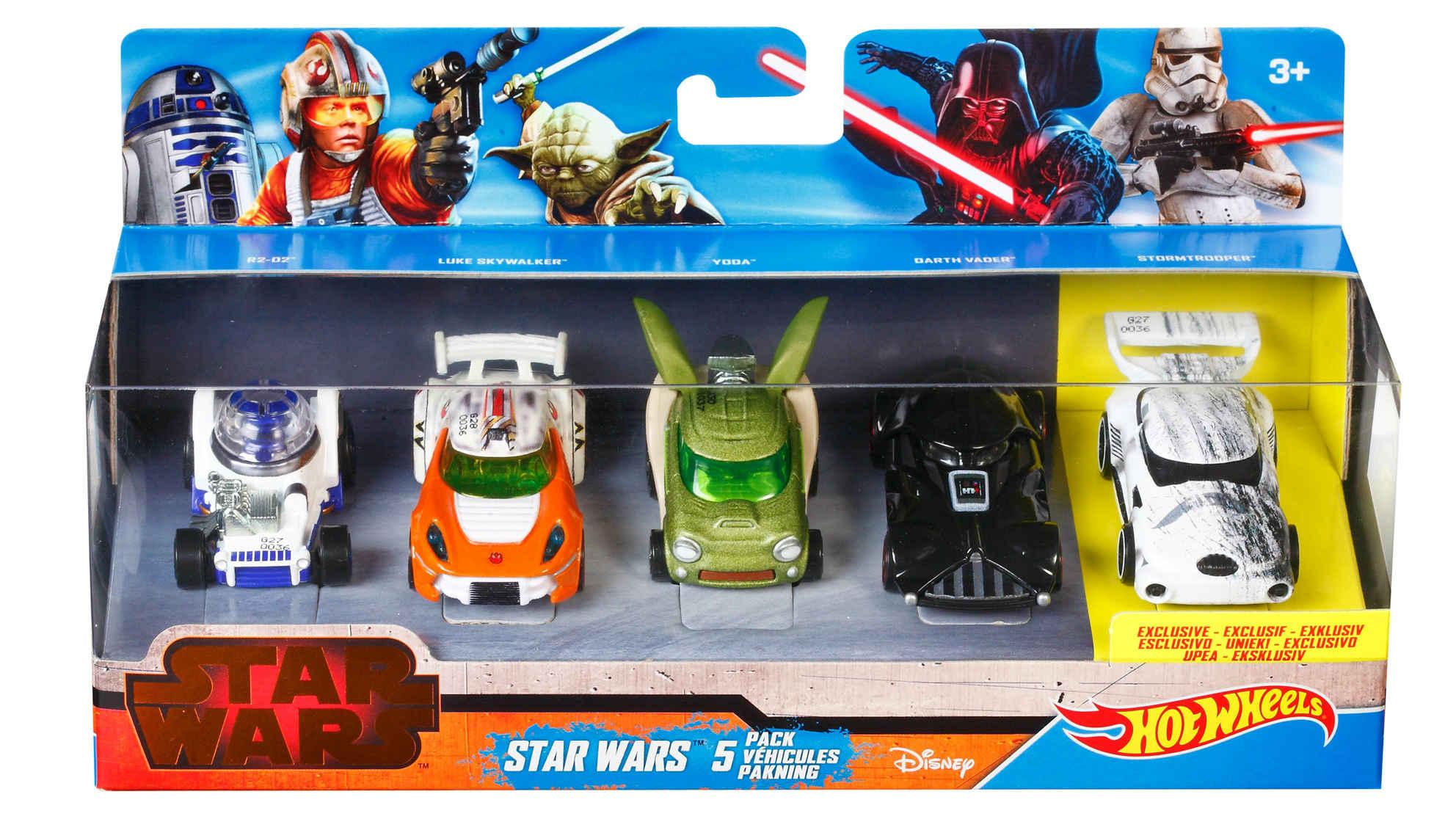 10 superpojazdów Star Wars od Hot Wheels