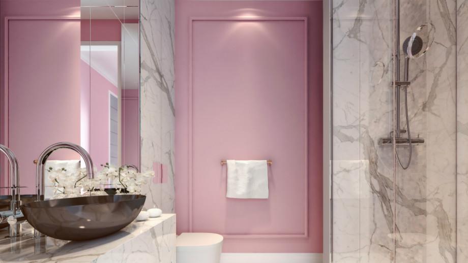 Gorący Trend Różowa łazienka Allegropl