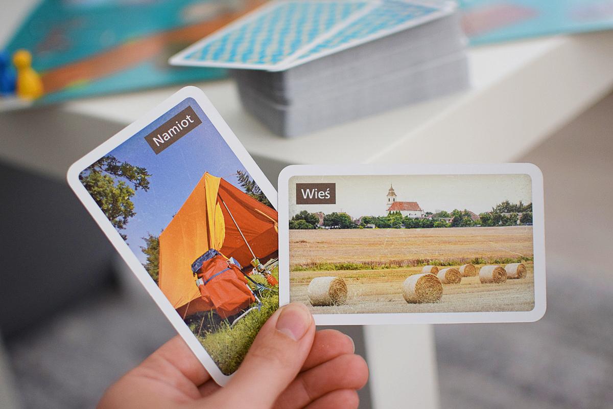 Fotografie 7 kariet s obrázkami
