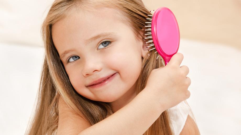 Grzebień i szczotka do włosów przedszkolaka