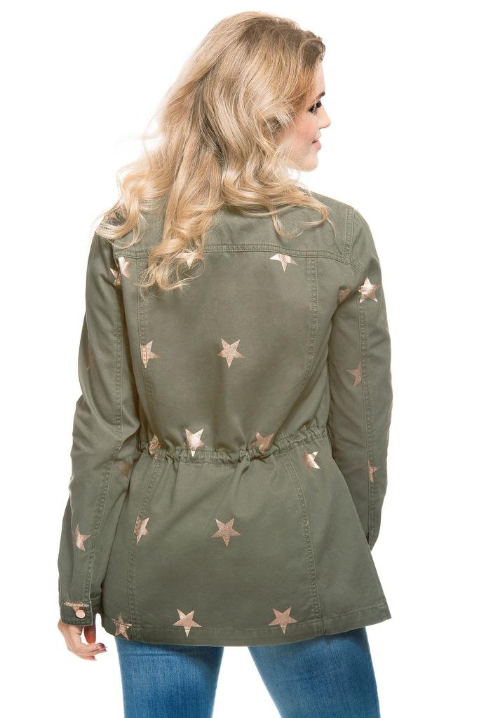 Kurtka ONLY onlRICKY STAR UTILITY JACKET OTW 15131413 oliwkowy XS