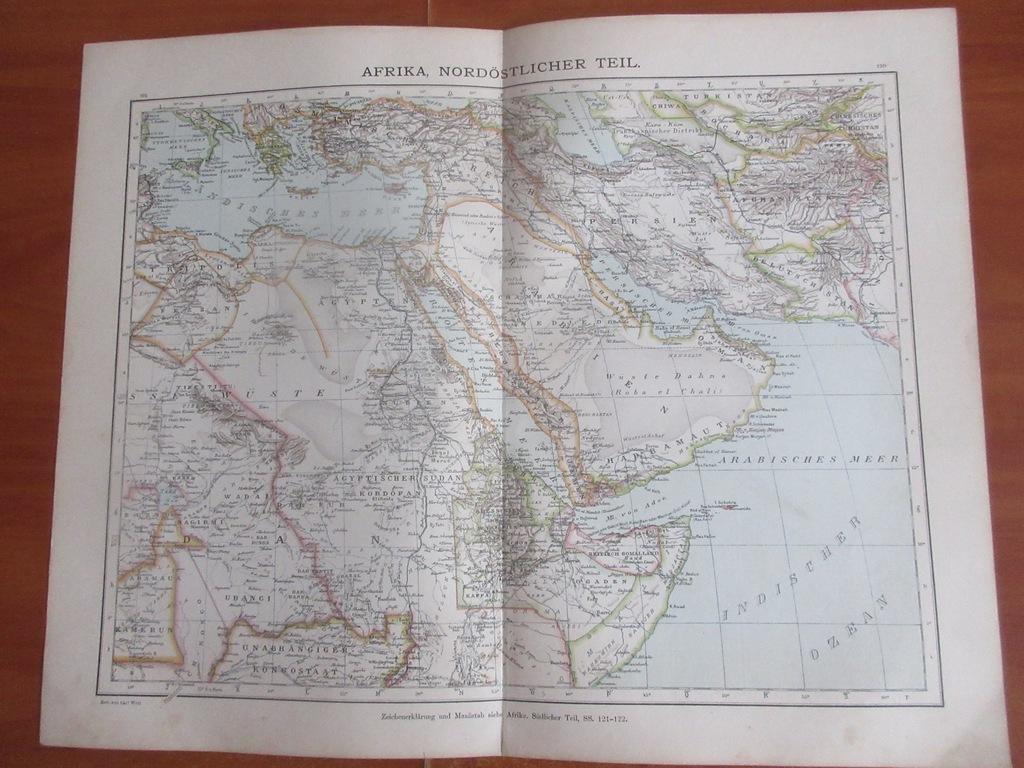 EGIPT SUDAN SOMALIA ETIOPIA   1896 ROK