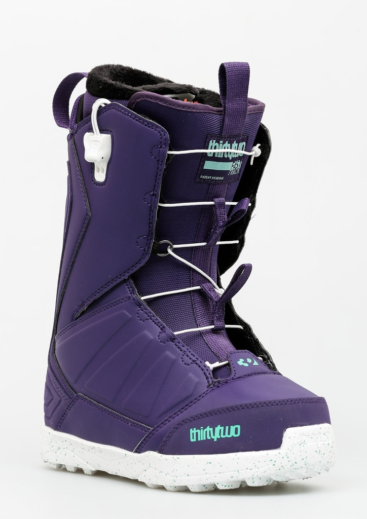 damskie buty snowboardowe thirtytwo lashed boa purple