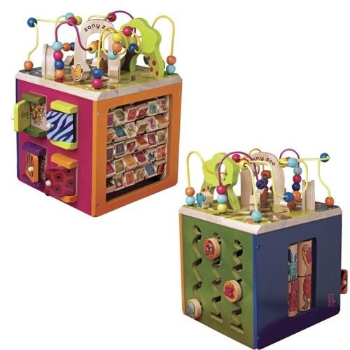B.Toys Olbrzymia Drewniana Kostka Edukacyjna