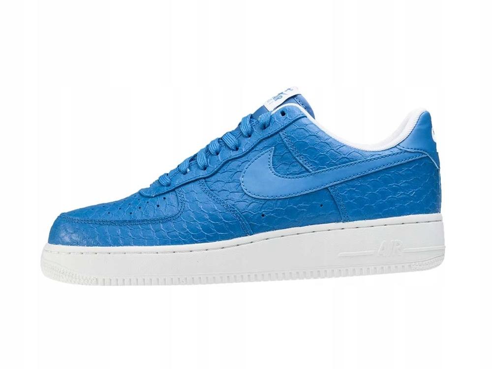 buty męskie Nike Air Force 1 '07 NIEBIESKIE nowe