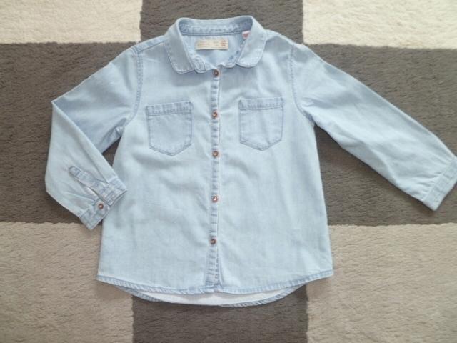Zara koszula dżinsowa 104 7521928175 oficjalne archiwum  jRTea