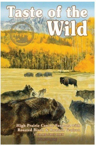 Taste of the Wild High Prairie Canine z mięsem z b