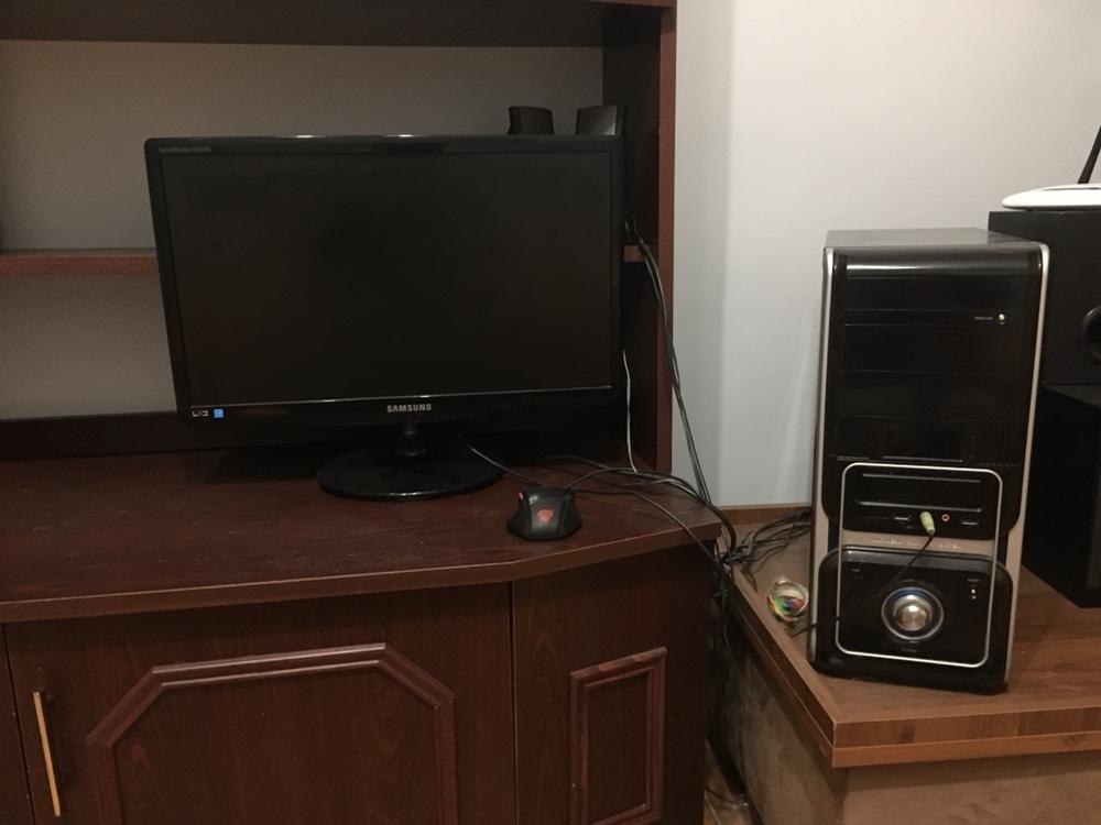 Komputer do gier + monitor