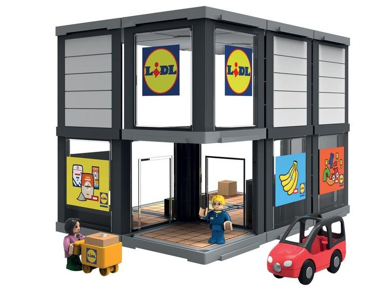 Play Tive Junior Drewniany Supermarket Lidl 7183017169 Oficjalne Archiwum Allegro