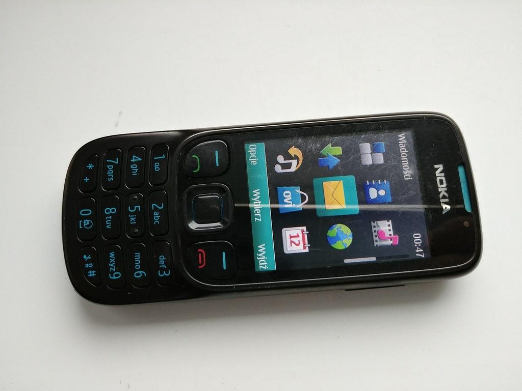 czarna Nokia 6303i Classic komplet okazja Poznań