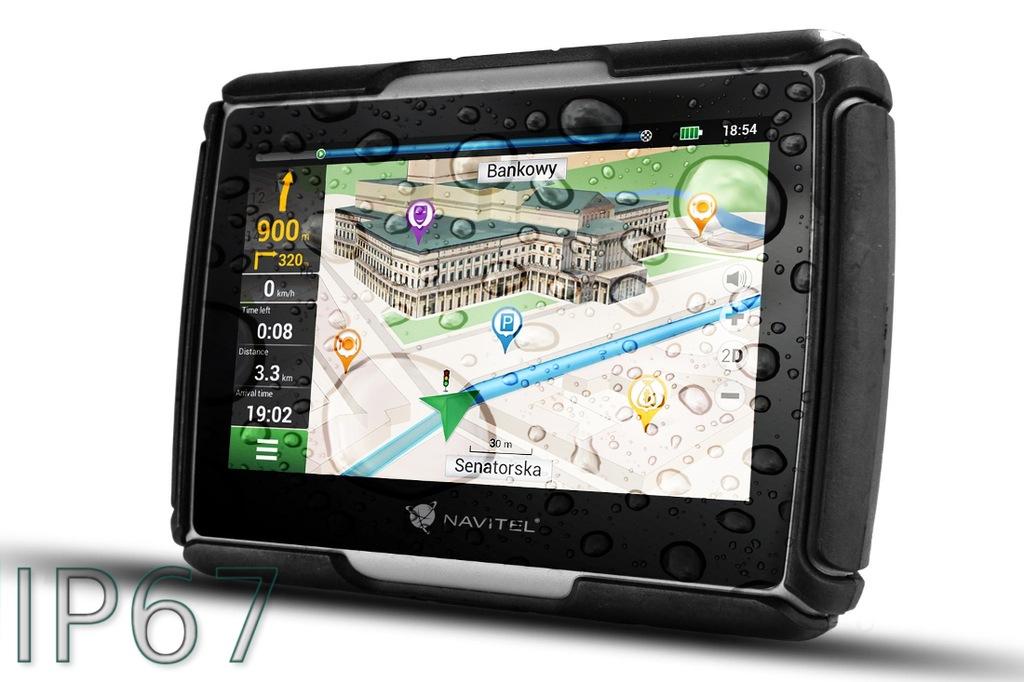 NAWIGACJA GPS NAVITEL G550 MOTO Mapy EU 47 krajów