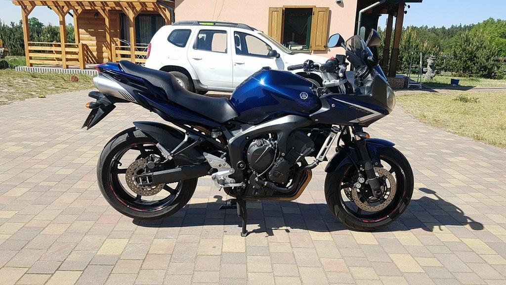 Yamaha fazer S2 zarejestrowany na A2
