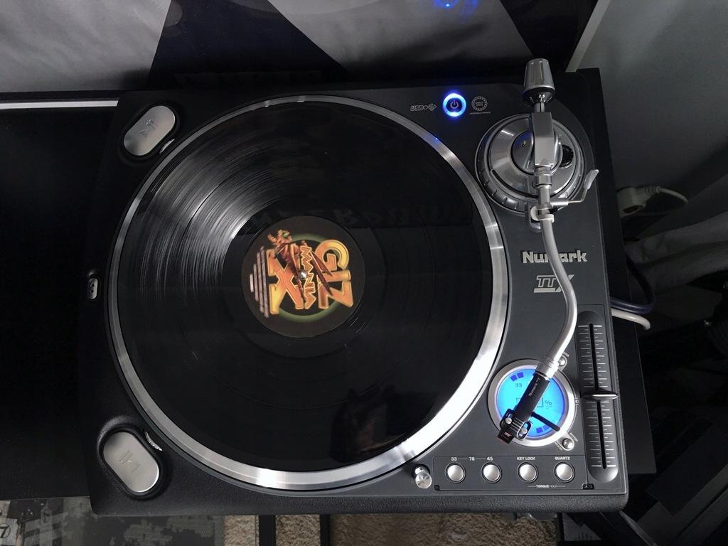 Gramofon NUMARK TTX USB GW + HF350 Igła Slipmaty!!