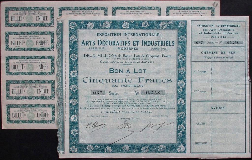 Akcja Arts Decoratifs Et Industriels 1923