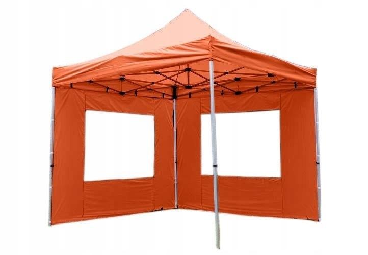 Namiot ogrodowy 3x3 m automatyczny, pomarańczowy p