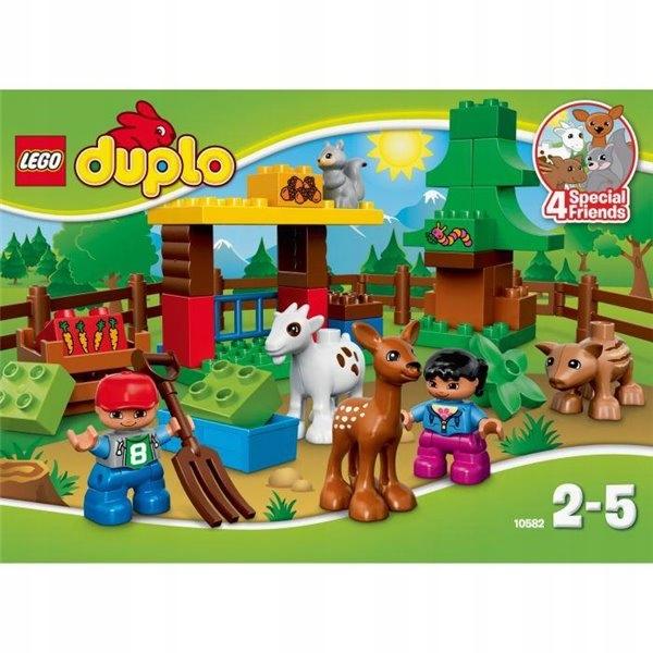 10582 LEGO Duplo LEŚNE ZWIERZĘTA nowe