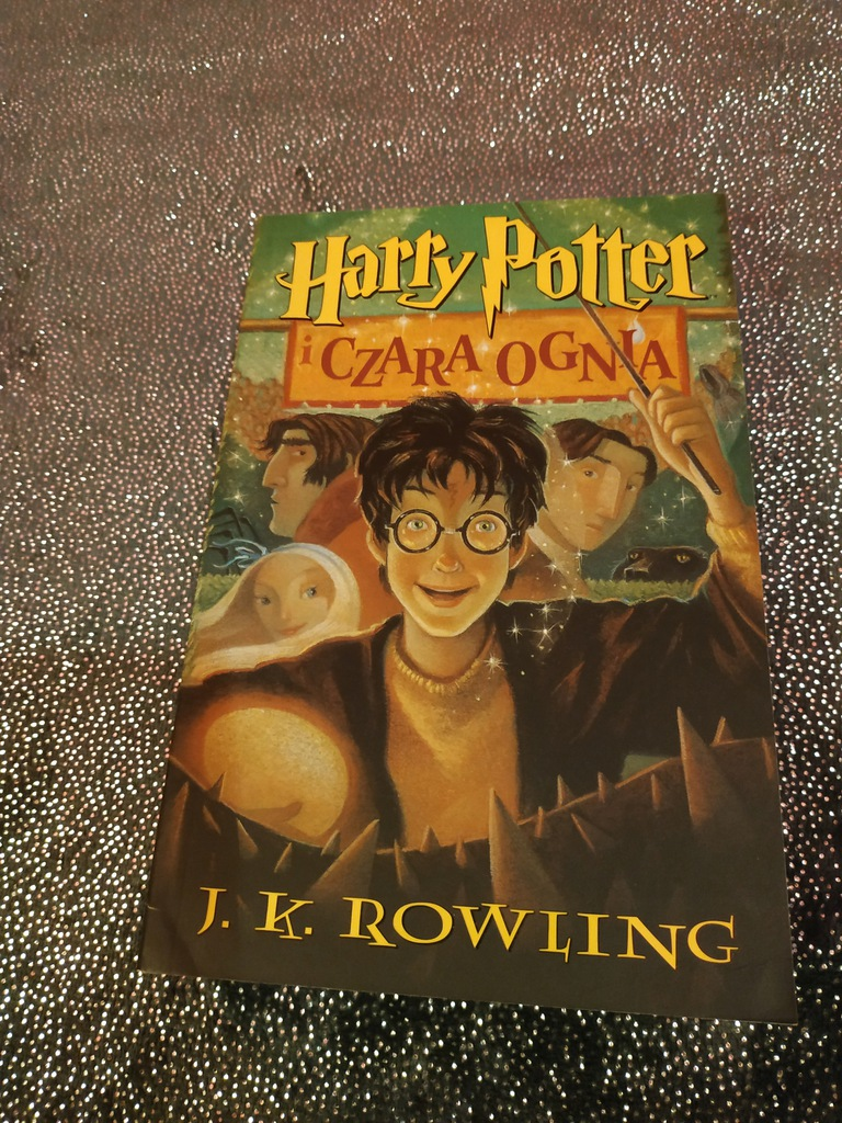 Harry Potter I Czara Ognia Nowa 7756306455 Oficjalne Archiwum Allegro