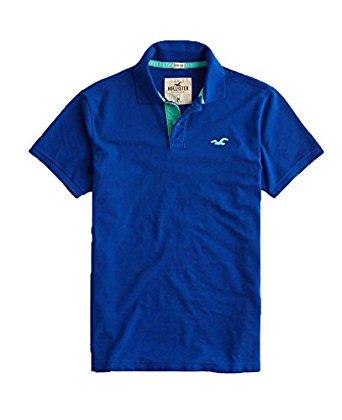 T-shirt Polo HOLLISTER habrowy logo haft r. S BCM